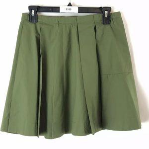 J. Crew Crewcuts Girls Casual Skirt Size 14 Green